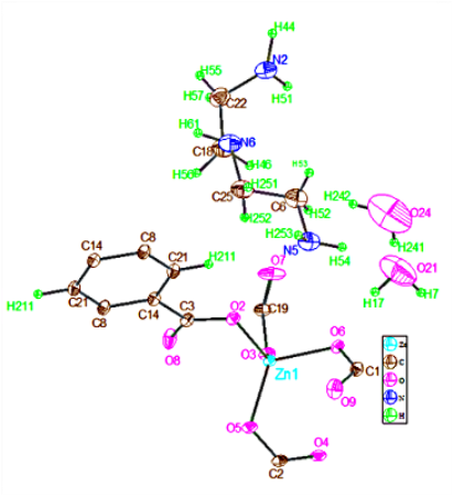Hydrothermal Synthesis And Crystal Structure Of A New Coordination
